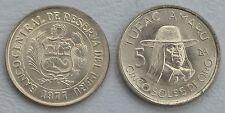 Peru 5 Soles 1975-1977 p267 unz.