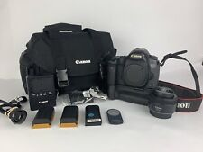 Canon EOS 5D Mark III 22.3MP Camera - W/ Battery Grip and 3x Batteries 50mm Lens