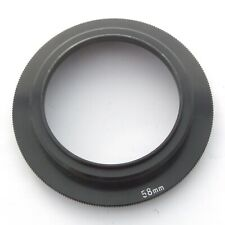 Mamiya 645 Bellows Lens Hood 58mm Mounting Ring, excellent + condition (18695)