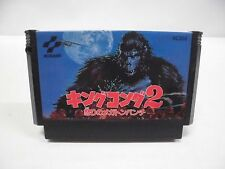 NES -- KING KONG 2 -- Famicom. Action. Japan game. Work fully!! 10210