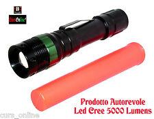 Torcia BL 8373 Zoom Led Cree Potente Batteria Caricabatterie Prodotto Autorevole