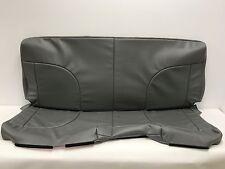 International 4300  Bench Seat Cover- Bottom and Backrest-Grey Vinyl