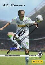 Roel BROUWERS + Borussia Mönchengladbach + Saison 2013/2014 + Autogrammkarte