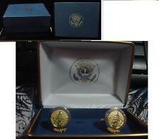 Pair of  new  presidential george w bush / cheney inauguration cufflinks  2005