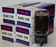 (4) Matched Tung Sol 6L6GC STR Reissue amp tubes, Brand NEW