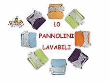PANNOLINI LAVABILI POP-IN 10 PZ ORIGINALI