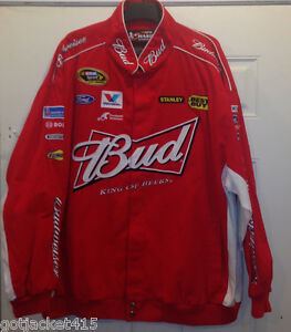 Budweiser KASEY KAHNE Jacket by CHASE AUTHENTICS - NEW only 3XL size