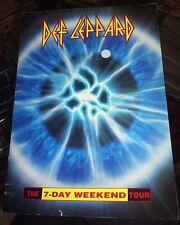1992-93 Def Leppard 7-Day Weekend Tour Program