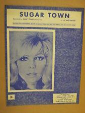 Canción hoja de azúcar Ciudad nacy Sinatra 1966