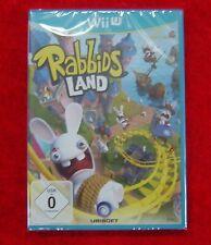 Rabbids Land Wii U, Nintendo WiiU Spiel, Neu OVP