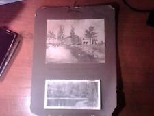 1908 WALL CALENDAR THE MIDDLESEX MUTUAL FIRE INSURANCE COMPANY CONCORD MA