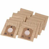 10pcs Disposable Kraft Paper Dust Bag S-Bag Pouch For Vacuum Cleaner 00018