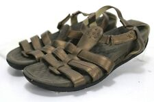 Privo By Clarks T-Straps $60 Women's Sandals Size 8 Brown