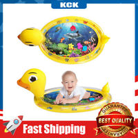 Tummy Time Water Mat Inflatable Play Mat Toy for 3+ Months Newborn Infants Baby