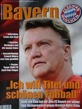Programm 2009/10 FC Bayern München - Werder Bremen