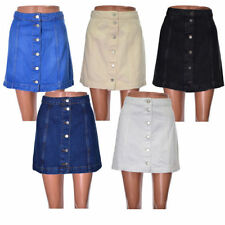 Topshop Denim A-line Casual Skirts for Women