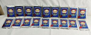 Lot Of 18 Unopened Packs of 1989 Upper Deck Baseball Cards