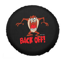 """PU leather Spare Wheel Cover 16"""" Back Off Pattern Universal Tire Covers"""