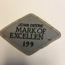John Deere Mark of Excellen 199 Patch