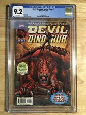 Devil Dinosaur Spring Fling #1 CGC 9.2 (NM-)