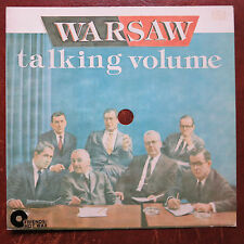 """WARSAW – Talking Volume 8"""" Flexi Friends Rec. FR 007  Vancouver Punk from 1980"""