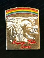 Collectible Vintage Niagara Falls Canada Colorful Metal Pinback Lapel Pin