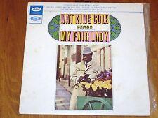"NAT KING COLE *RARE 7"" E.P.  ' MY FAIR LADY ' 1963 GC"