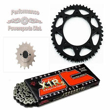 KAWASAKI KL650 KLR NEW SPROCKET & JT X1R2 X-RING CHAIN SET 16/43  1990-2016