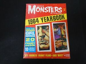 Famous Monsters Of Filmland 1964 Yearbook Warren Magazines