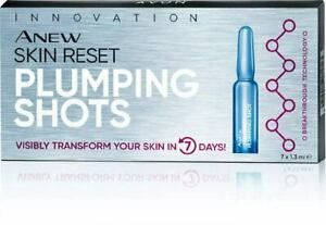Avon Anew Skin Reset Plumping Shot Face Skin Treatment 35+ Ageing  7 x 1.3ml
