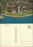 Ansichtskarte Büsum Luftbild Hochhaus 1968