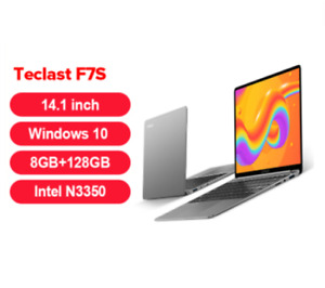 Laptop Teclast F7S Notebook 8GB RAM 128GB ROM Laptops 1920x1080 IPS Windows 10