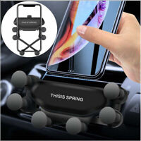 Universal Gravity Car Phone Holder Air Vent Mount Stand 8 X 11 For iPhone M Z6N6