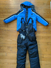 Toddler Boys Size 6 Blue Winter Jacket and Snow Pants *Extreme* Worn 2 times