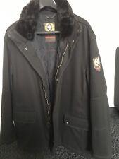 Strellson Swiss Cross Wool Winterjacke Gr. 56 schwarz