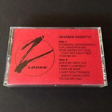 Z'Looke II My Desire Promo Cassette Tape Orpheus Records 1990 R&B New Jack Swing