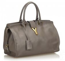 Yves Saint Laurent Cabas Chyc Tote Grey, authentic YSL