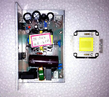 150W LED 19500 Lumins High Power LED and Power Supply Driver DIY Projector
