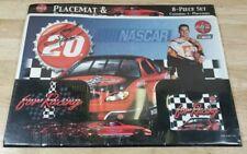 Tony Stewart NASCAR Coca Cola Placemats & Coasters Set - 8 Piece Set - NEW