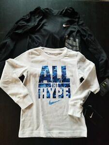 Nike Boys Long Sleeve Shirt Lot Size 6 New