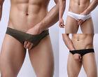 Trunks Showwear Men's Low rise Gay Brief Fun stage Cotton Underwear