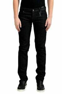 C'N'C Costume International Men's Dark Gray Distressed Classic Jeans US 40 IT 56