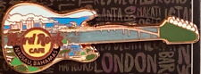 Hard Rock Cafe NASSAU 2018 SKYLINE GUITAR Copper PIN New on Card!