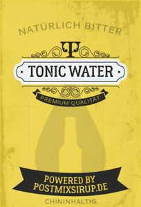 Tonic Water - Postmixsirup - Postmix - Sirup - Getränkesirup - 10lBiB (6,20€/L)