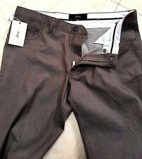 $850 NWT 100% AUTH BRIONI Mens JEANS PANTS LEATHER NEW 38