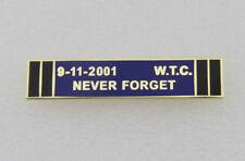 Uniform Police Service Citation Bar  9-11 Never Forget Purple Bar