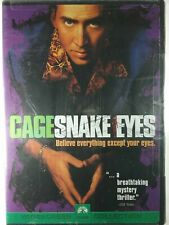 Snake Eyes Nicholas Cage Dvd - Wide Screen - 1998 Paramount New