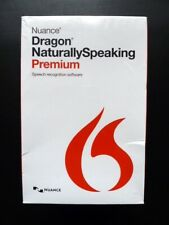Nuance Dragon Naturally-Speaking 13 Premium (Windows 7, 8 and 10 Compatible) NEW