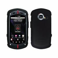 For Casio G'zOne Commando C771 Rubberized Hard Snap on Protector Cover Case Skin