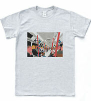 Underground Train Art T-shirt Retro London Tee Hipster Sketch